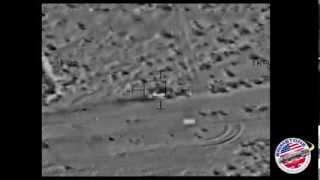 Brimstone Missile Strikes Fast Moving Targets [HD]