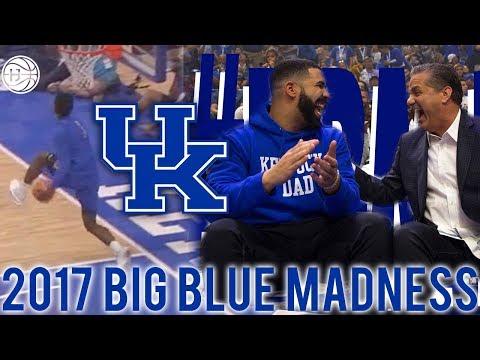 Kentucky Big Blue Madness 2017 FULL HIGHLIGHTS! Drake, Hamidou Diallo, Kevin Knox and More!