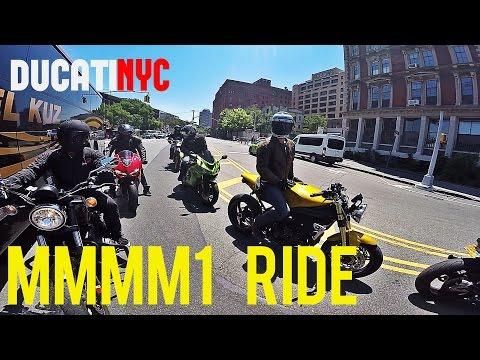 NYC Moto Meetup Ride - MMMM1 Rideout - Dumbo to Redhook, Brooklyn - v234