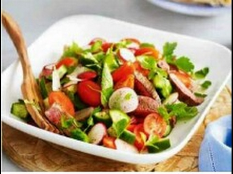 how to cook vegetable salad