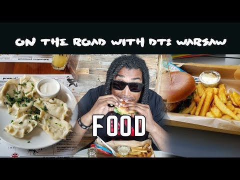 On The Road With DT The Artist: Warsaw Edition (Food Segment) VLOG Episode 1