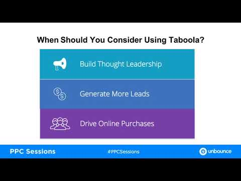 Ubounce + Taboola: Why Performance Advertisers are Flocking to Discovery Platforms