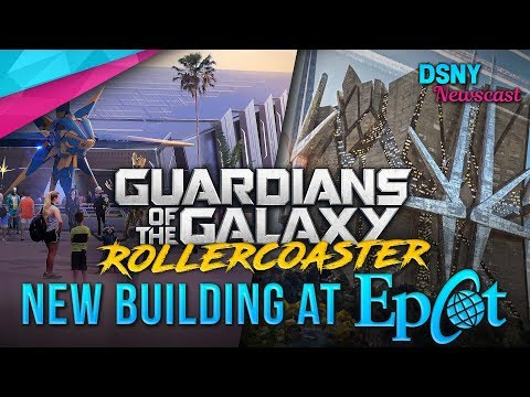 Rumored Building Design For GUARDIANS ROLLERCOASTER Coming To EPCOT - Disney News - 7/5/18