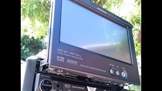 Pioneer Retratil  Avh P5700 Dvd c/ Tv Digital + Leitor Sd + Camera de Ré