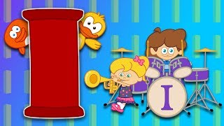 I Harfi - ABC Alfabe SEVİMLİ DOSTLAR Eğitici Çizgi Film Çocuk Şarkıları Videoları