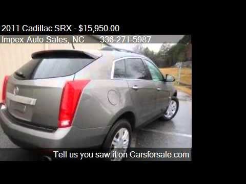 2011 cadillac srx base 4dr suv for sale in greensboro nc 27 youtube. Black Bedroom Furniture Sets. Home Design Ideas