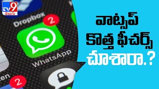 WhatsApp Will Bring Three New Features This Year - TV9