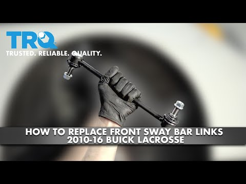 How To Replace Front Sway Bar Links 2010-16 Buick LaCrosse