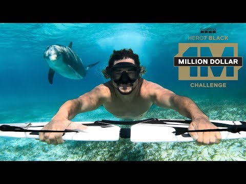 Fueled by more than 25,000 submissions from across the globe, GoPro presents the first-ever Million Dollar Challenge video. Shot entirely on HERO7 Black, experience HyperSmooth, TimeWarp and the cinematic-quality of GoPro through the lenses of 57 creators from the GoPro Community, who are splitting their share of $1 million through GoPro Awards.