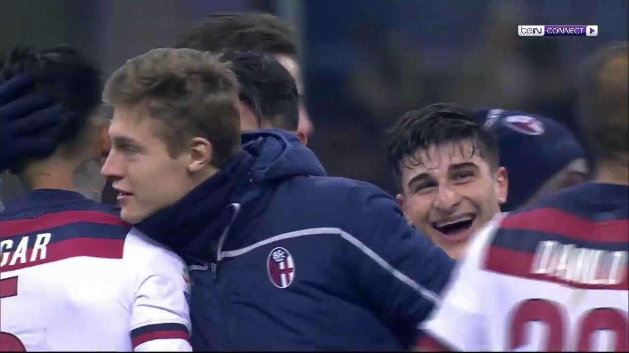 Inter Milan 0-1 Bologna Match Highlights - YouTube