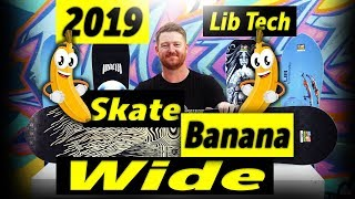 Gambar cover 2019 Lib Tech Skate Banana Wide Snowboard Review
