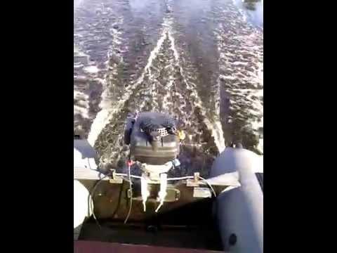 Тюнинг моего катера для рыбалки и охоты - YouTube