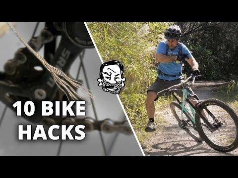 10 Bike Hacks that will Blow Your Mind! 🚴🏼 Sorta
