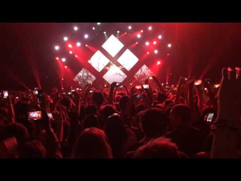 KYGO @ Cloud Nine Tour Barcelona - I See Fire (KYGO Remix)