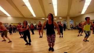 Sujeily Zumba 20150914/09 Choreo by ZJ Mauricio Camargo