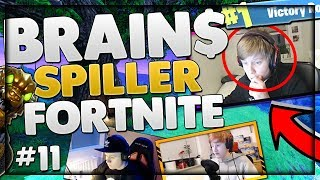BRAIN$ SPILLER FORTNITE! - Dansk Fortnite #11