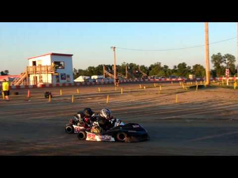 7.29.2017 - KC Raceway - Barrett - Junior 1 - Heat 2