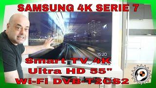 "La mia nuova TV samsung serie 7 Smart TV 4K Ultra HD 55"" Wi-Fi DVB-T2CS2 [Esclusiva Amazon] a 399 €"