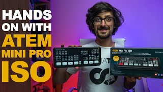 ATEM MINI PRO ISO | Using ISO Recordings + DaVinci Project