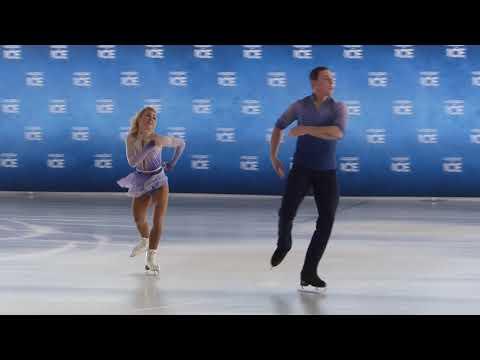 Aljona Savchenko + Bruno Massot mit ihrer Kür
