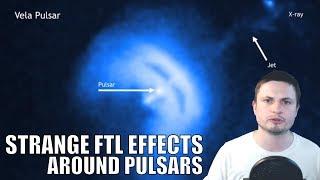 "Strange ""Faster Than Light"" Effects At The Edge of Neutron Stars"