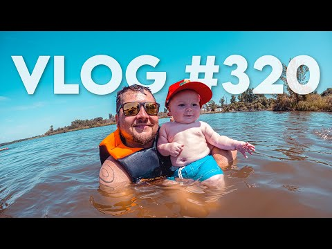 VLOG #320 / FORD's 1st Trip to THE LAKE! / August 21, 2021