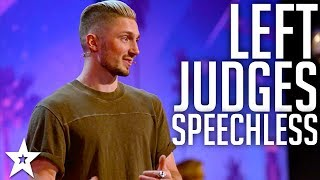 Magician Tom London amazes Judges with MAGIC | America's Got Talent 2017