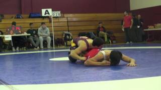 Gambar cover 2016 Concordia FS68kg Vince De Marinis (Concordia) vs Zaki Hamidi (NCWC)