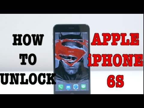 How to unlock a verizon iphone 6s