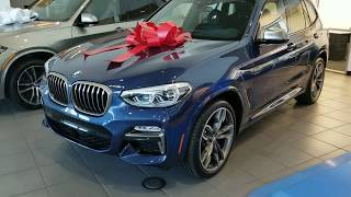 2018 BMW X3 M40i look around with Exhaust note