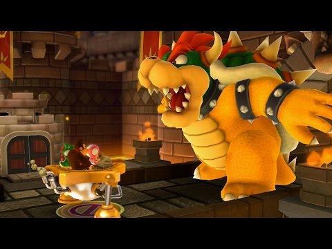 Mario Party 10 (Wii U) - Chaos Castle [Part 5 ~ Mega Mechakoopa / Bowser - Dry Bowser]