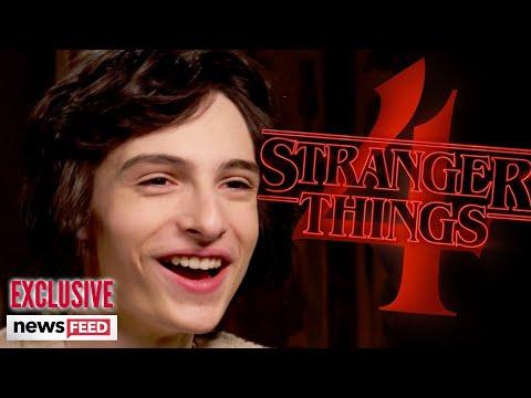 Finn Wolfhard Talks 'STRANGER THINGS' Season 4 & New Horror Film 'THE TURNING'!