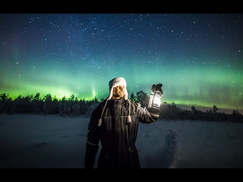 I CAUGHT THE NORTHERN LIGHTS AT -27 DEGREES!