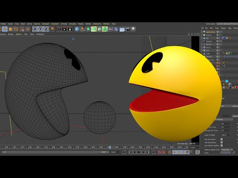 Making Of Pacman 3D Animation - Behind The Scenes
