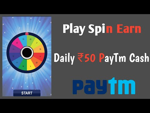 PLAY Spin And Earn money ₹200 Daily || PLAY GAME AND EARN money
