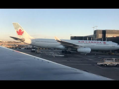 Air Canada AC888 Ottawa-London Economy