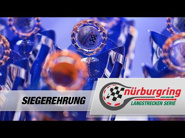 Virtuelle Siegerehrung Nürburgring Langstrecken-Serie 2020
