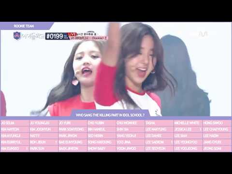 [COUNTER] WHO SANG THE 'Killing Part' On IDOL SCHOOL ?