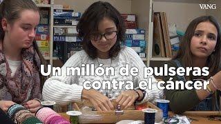 Niñas logran un millón de euros haciendo pulseras contra el cáncer infantil