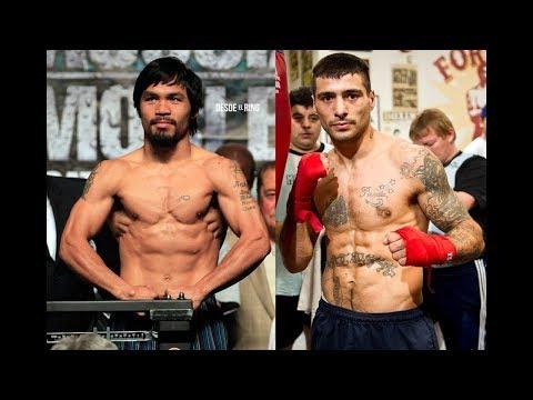 PACQUIAO vs MATTHYSSE | The Boxing Genius Speaks