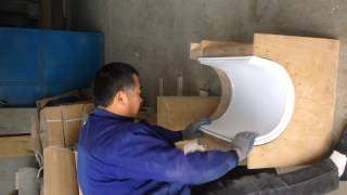 PVC Foam Board Hot Bending
