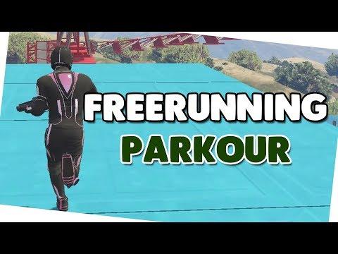 FREERUNNING PARKOUR 🍟 Parkour + Download 🍟 GTA V Custom Map #470