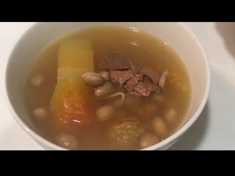 Papaya And Peanuts Pork Soup 👩🏼🍳