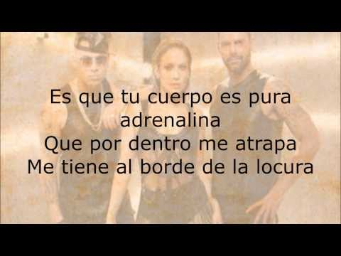 Wisin  Adrenalina ft Jennifer Lopez, Ricky Martin Lyric