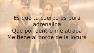 Gambar cover Wisin - Adrenalina ft. Jennifer Lopez, Ricky Martin (Lyric)