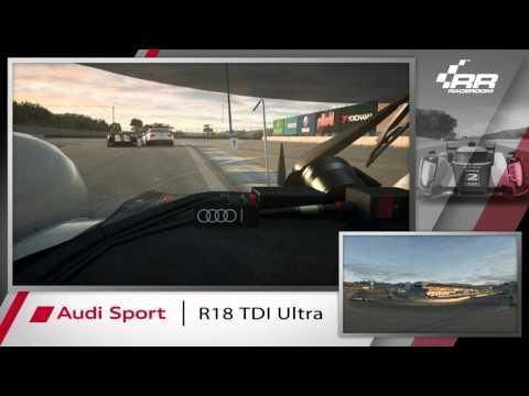 RaceRoom | Audi R18 TDI Ultra - gameplay preview