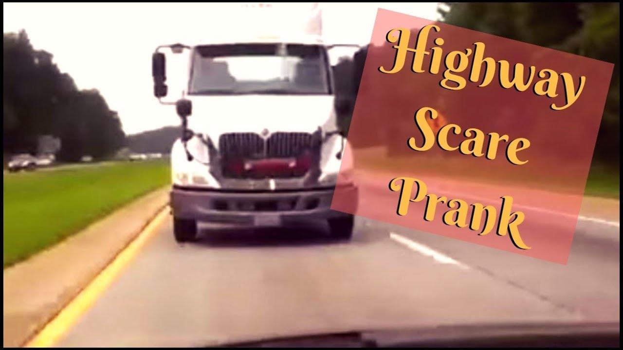 Highway Scare Prank On Wife ORIGINAL VIDEO