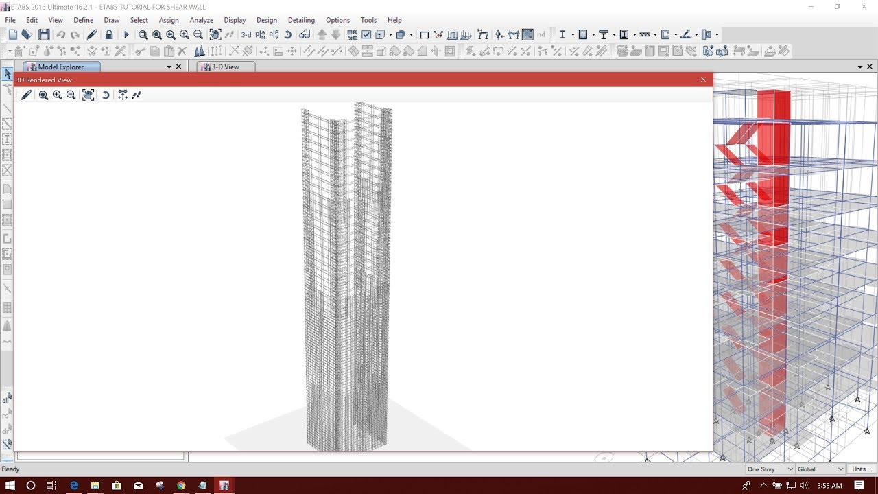 Shear Wall Design Example Is 456