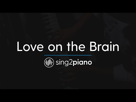 Love On The Brain (Piano Karaoke Instrumental) Rihanna