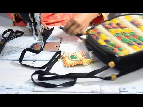 DIY PARTY WEAR SLING BAG/ पार्टी के लिए खूबसूरत साइड बैग